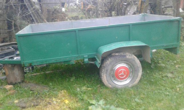 Прицеп до легкового автомобіля або до міні трактора!