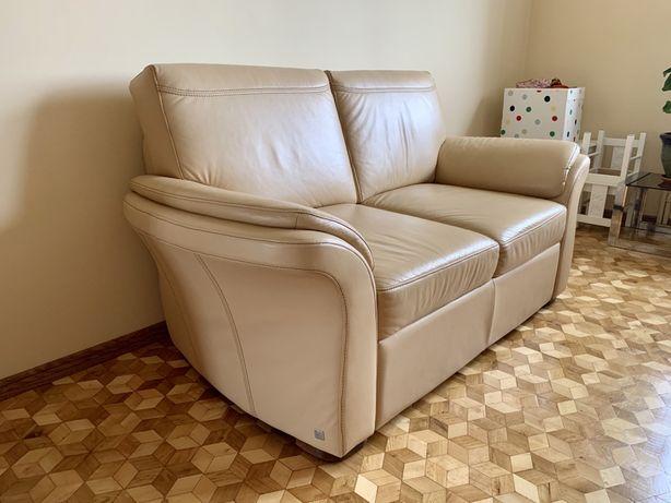 Skórzana sofa Wajnert 2 sztuki