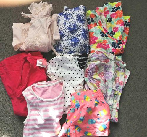 Zestaw ubrań paka dla dziewczynki r 98 / 104