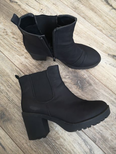 Ботинки женские нубук, ботильоны, сапоги