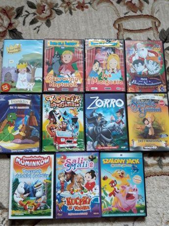 Płyty DVD z bajkami