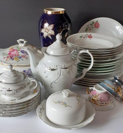 Piękna stara porcelana kolekcje prl Ćmielów