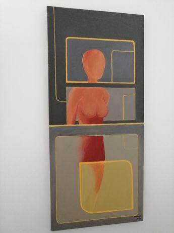 Quadro/tela pintura original do pintor Eduardo Dias