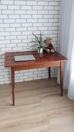 Stół - ława - biurko - PRL - wysoki połysk - patyczak - antyk