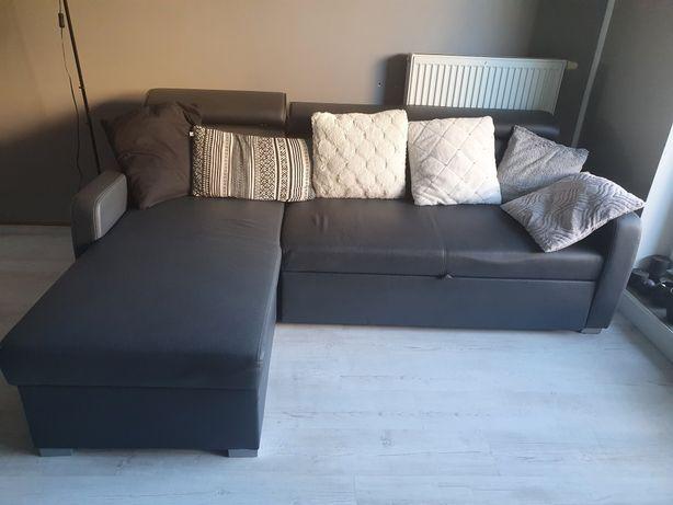Sofa narożnik skórzany