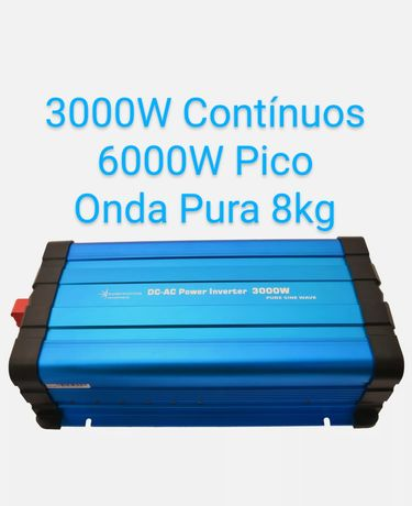Inversor Conversor 3000W 6000W Onda Pura 12V