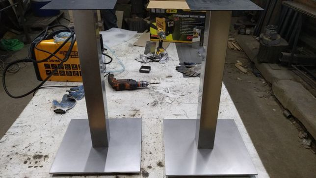 Опроры, базы для стола из нержавейки 2000гр