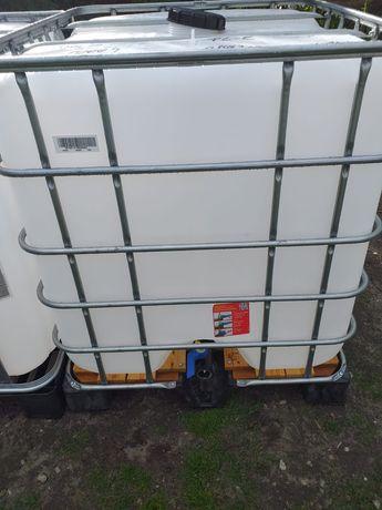 Zbiorniki  paletopojemnik beczki 1000l mauser mauzer