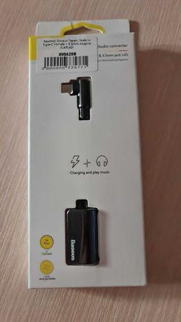 Адаптер для одновременной зарядки и прослушивания музыки Baseus CATL40