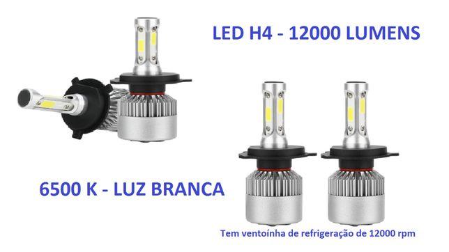 Led H4 360 Mota ou Automóvel - Luz Branca