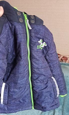 Куртка зимняя для мальчика рост 110 см