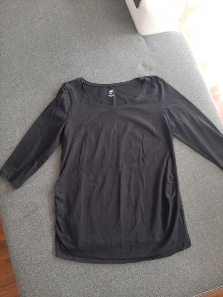 Bluzka ciążowa czarna H&M rozm. L