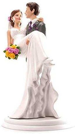 Dekora figurka pary młodej figurka na tort weselny 20 cm