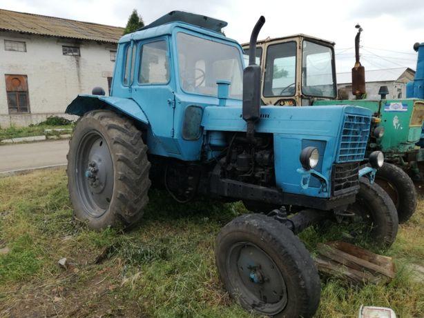 Трактори МТЗ-80, Т-150 ХТЗ, Т-40, ЮМЗ-6