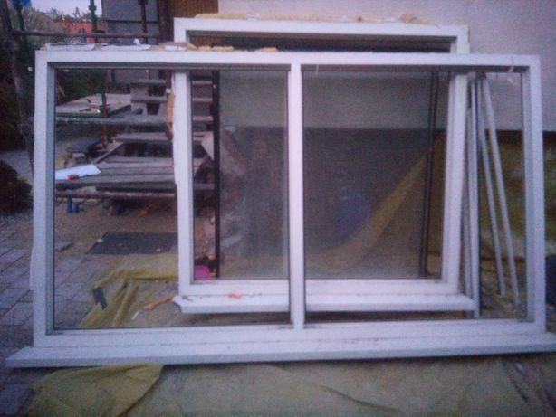 Okno plastikowe 140x243 fix