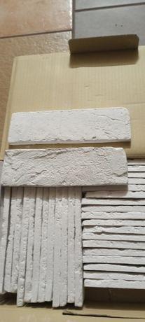 Kamień dekoracyjny Cegiełka Biała Cena za 2 kartony