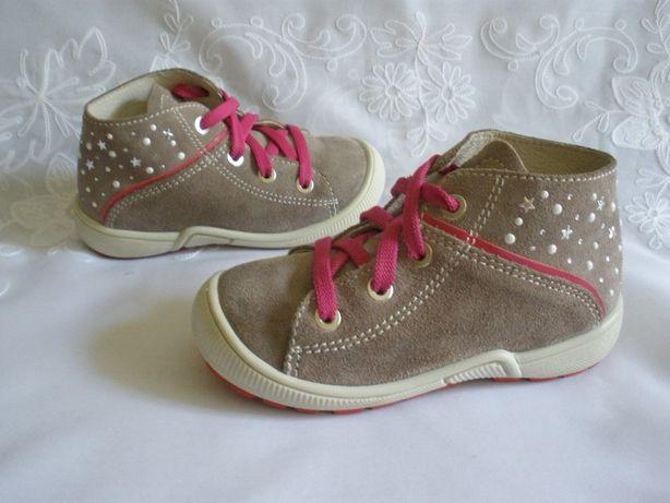 Замшевые ботиночки TWISTY 24 р
