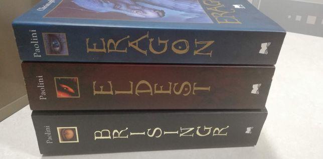 Livros Trilogia Eragon Eldest Brisingr (Novos)