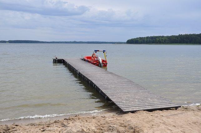 Pomost, tratwa wędkarska BEZ POZWOLEŃ! do Łódki, łodzi CYNK PROMOCJA