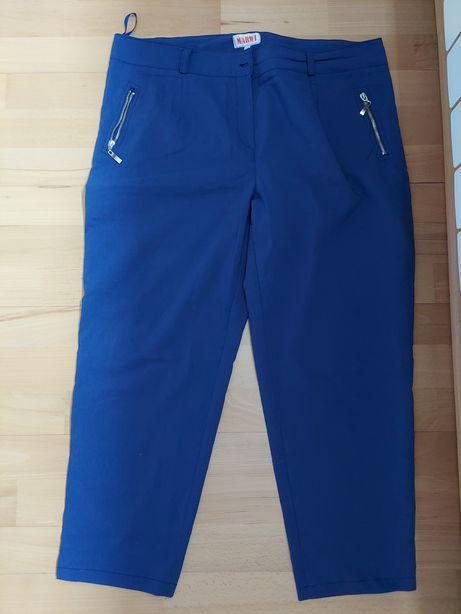 Spodnie granatowe, ciemnoniebieskie r. 48/50