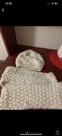 Набор шапка+шарфик