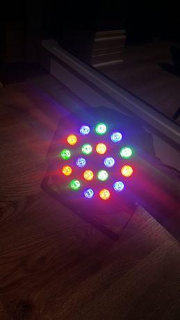 Reflektor RGB 18 × 3W