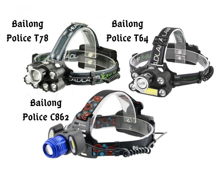 Налобный фонарь аккумуляторный Bailong Police Т6 Т78\Т64\С862 Харьков - изображение 1