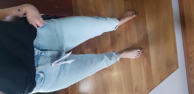Spodnie jeansowe BOYFRIEND rozmiar L NOWE