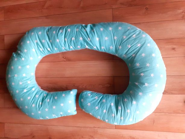 Poduszka ciążowa typu rogal