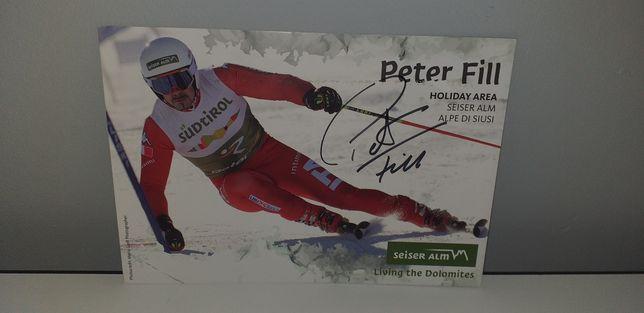 Autograf - Peter Fill