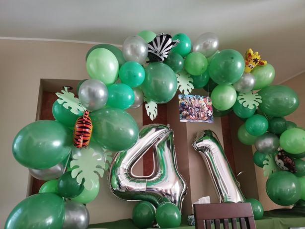 Balony roczek łuk balonowy