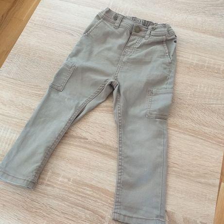 Spodnie hm 92 h&m slim rurki
