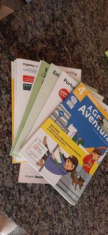 Livros escolares 4°ano