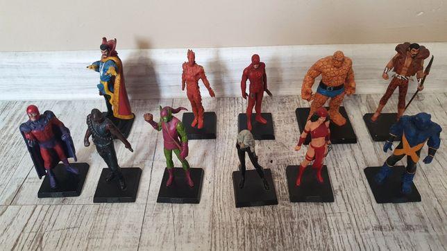 Ołowiane figurki postaci Marvel, bohaterowie