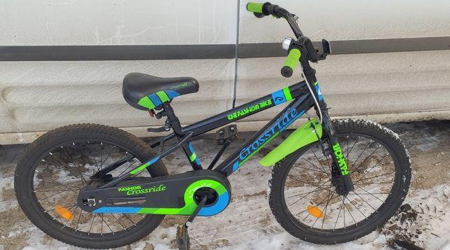 Велосипед горный Crossride и самокат в подарок