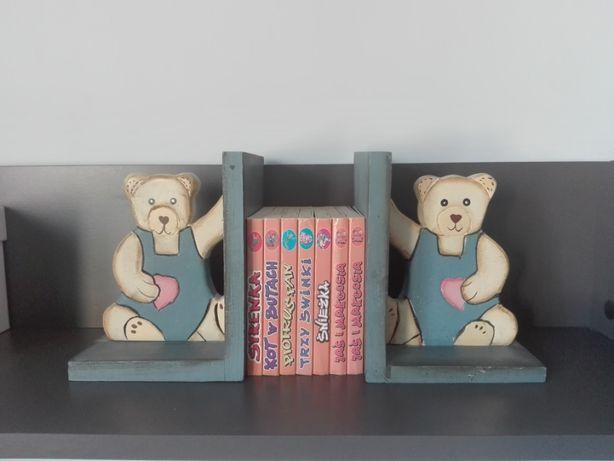 Podpórki na książki - misie