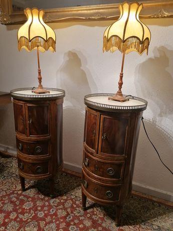Par antigas Guéridons (mesas apoio sofá, mesinhas cabeceira) Luís XV