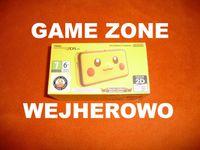 NEW Nintendo 2DS XL 4GB Limited Pikachu + CFW + Grip + 4 gry + GW6M