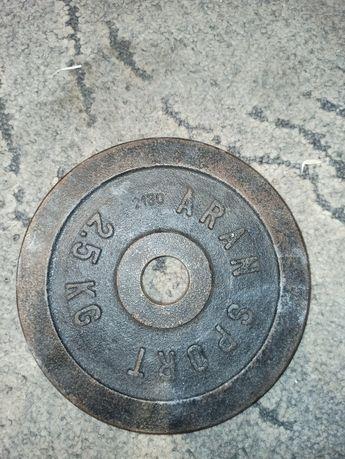 Obciążenie żeliwne 2.5 kg