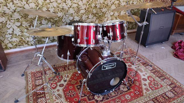 Mapex Tornado ударная установка барабаны в жирной комплектации! sonor