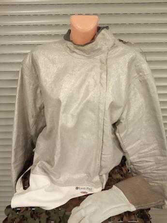 Bluza szablowa elektryczna plus rękawica szermiercza Leon Paul