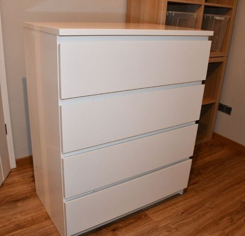 Biała komoda Ikea Malm jak Brimnes czy Hemnes + transport gratis!