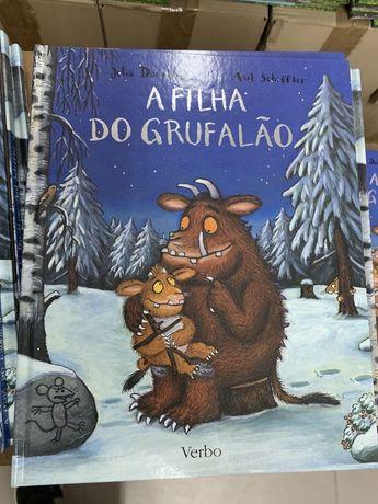 A Filha do Grufalão - LIVRO de Axel Scheffler e Julia Donaldson