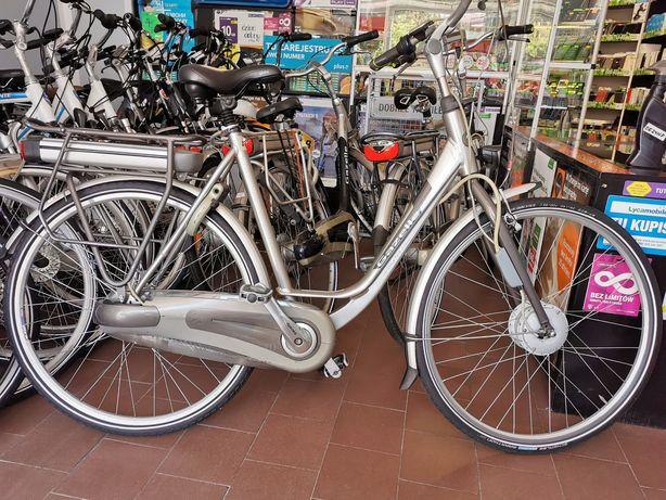 Holenderski rower elektryczny Gazela