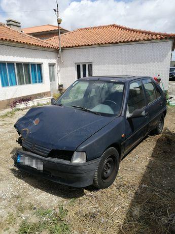 Para peças Peugeot 106 boa mecânica 1.5diesel muitas peças disponíveis