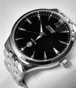 Skmei 9071 Elite Black годинник чоловічий наручний