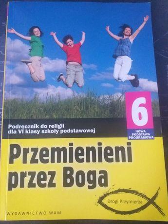 Książka do religii klasa 6 Przemienieni przez Boga