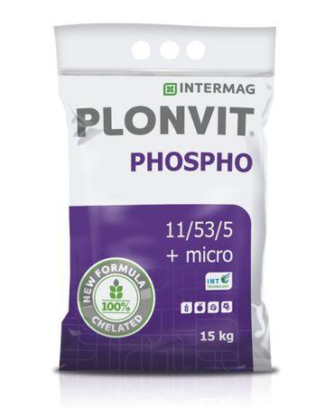 PLONVIT PHOSPHO 11-53-5 nawóz dolistny 15kg fosforowy INTERMAG