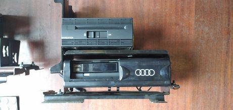Stelaż, zmieniarka, navi Audi A8 D2