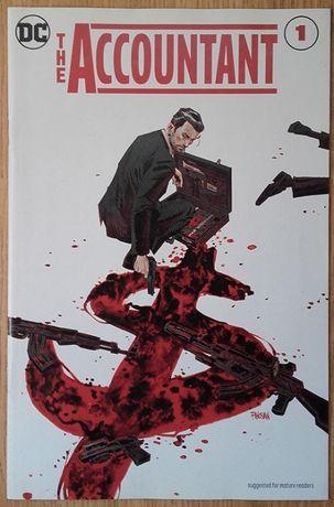 Revistas de Banda Desenhada X-Men e The Accountant
